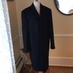 NWOT Brooks Brothers Men's Navy Wool Town Coat 40R